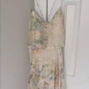 Jenny Yoo - inesse print long vintage floral